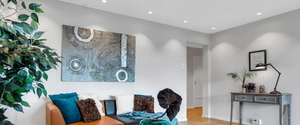 Bilde av belysning i stue